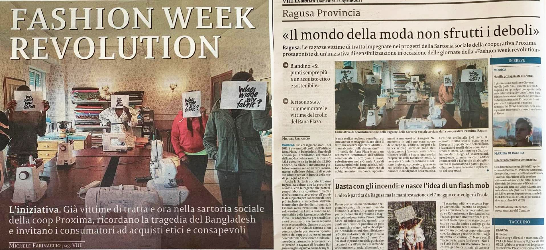 Fashion Week Revolution - La Sicilia